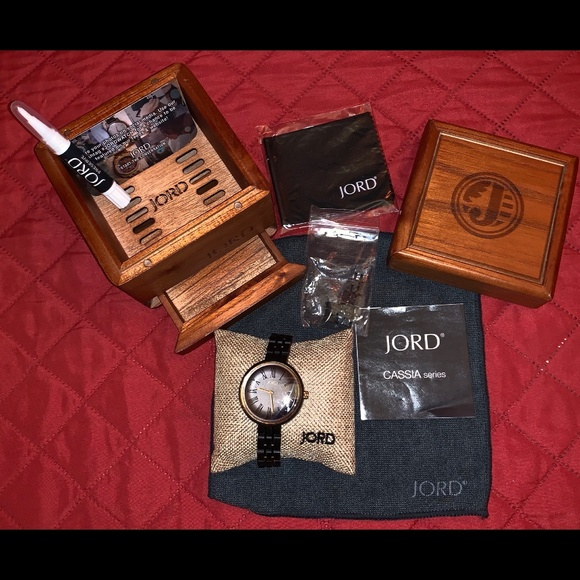 Jord Accessories - SOLD! JORD CASSIA Ebony & Sable Women Watch NEW